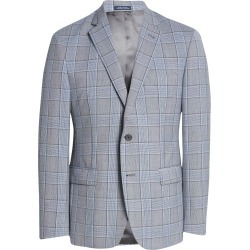 Men's John W. Nordstrom Traditional Fit Glen Plaid Wool Sport Coat, Size 42 Long - Grey found on MODAPINS from Nordstrom for USD $239.40