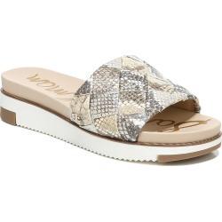 Women's Sam Edelman Adaley Platform Slide Sandal, Size 9 W - Metallic found on Bargain Bro India from Nordstrom for $119.95