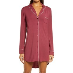 Women's Nordstrom Lingerie Moonlight Nightshirt, Size Large - Red found on MODAPINS from Nordstrom for USD $49.00