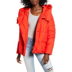 Women's Only June Puffer Jacket, Size Large - Red found on Bargain Bro India from Nordstrom for $79.00