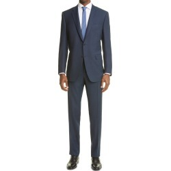 Men's Canali Milano Classic Fit Textured Wool Suit found on Bargain Bro from Nordstrom for USD $1,440.20
