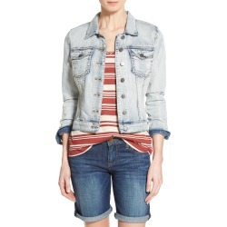Women's Kut From The Kloth 'Helena' Denim Jacket, Size Medium - Blue found on Bargain Bro Philippines from LinkShare USA for $79.00