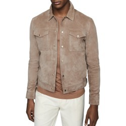 Men's Reiss Jagger Leather Jacket found on MODAPINS from Nordstrom for USD $330.00