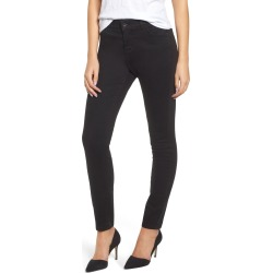 Women's Jag Jeans Cecilia Skinny Jeans, Size 0 - Black found on MODAPINS from Nordstrom for USD $84.00