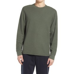 Men's Vince Double Knit Thermal Shirt, Size Medium - Green found on Bargain Bro from Nordstrom for USD $125.40