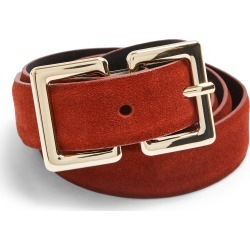 Women's Topshop Rec Logo Belt, Size Medium/Large - Rust found on Bargain Bro Philippines from Nordstrom for $30.00