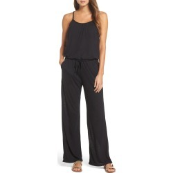 Women's Becca Breezy Basics Jumpsuit, Size Large - Black (Nordstrom Exclusive) found on Bargain Bro India from Nordstrom for $78.00