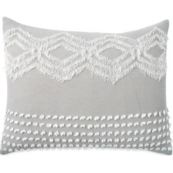 Peri Home Cut Geo Sham, Size King - Grey found on Bargain Bro India from Nordstrom for $39.99