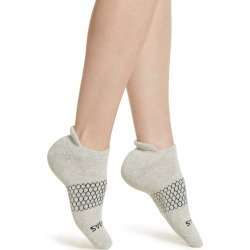 Women's Bombas Solid Ankle Socks, Size Medium - Grey found on Bargain Bro Philippines from LinkShare USA for $12.00