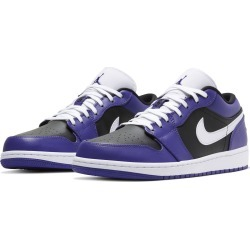 Men's Nike Air Jordan 1 Low Sneaker, Size 10.5 M - Purple found on MODAPINS from Nordstrom for USD $90.00