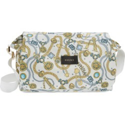 Infant Girl's Versace Chain Logo Print Diaper Bag - White found on Bargain Bro Philippines from LinkShare USA for $615.00