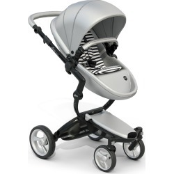 Infant Mima Xari Black Chassis Stroller With Reversible Reclining Seat & Carrycot, Size One Size - Grey found on Bargain Bro Philippines from LinkShare USA for $1469.99