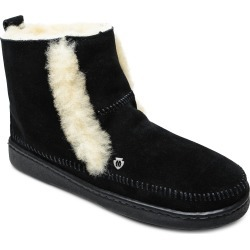 Women's Minnetonka Jade Boot With Genuine Shearling Trim, Size 8 M - Black found on Bargain Bro from Nordstrom for USD $75.96
