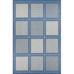 Couristan Reeife Summit Indoor/outdoor Rug, Size 2ft 3in x 11ft 9in - Blue found on Bargain Bro India from LinkShare USA for $89.00