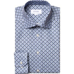 Men's Eton Contemporary Fit Medallion Dress Shirt found on MODAPINS from Nordstrom for USD $177.00