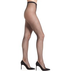 Women's Oroblu Tricot Fishnet Tights, Size Small/Medium - Black found on MODAPINS from Nordstrom for USD $23.00