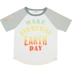 Toddler Boy's Peek Aren'T You Curious Easton Make Everyday Earth Day Graphic Tee, Size 2T - White found on Bargain Bro Philippines from Nordstrom for $34.00