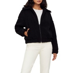 Women's Michael Stars Mindy Yosemite Faux Fur Bomber, Size Small - Black found on Bargain Bro India from Nordstrom for $228.00