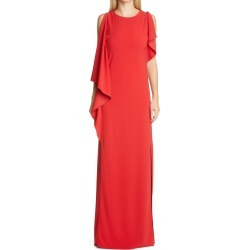 Women's St. John Stretch Cady Gown, Size 2 - Red found on Bargain Bro Philippines from Nordstrom for $1695.00