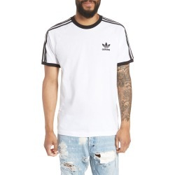 Men's Adidas Originals 3-Stripes T-Shirt, Size Small - White found on Bargain Bro India from LinkShare USA for $35.00
