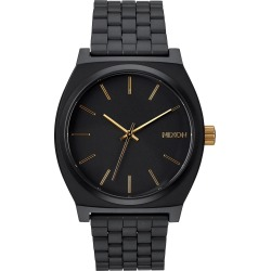 Men's Nixon 'The Time Teller' Stainless Steel Bracelet Watch, 37mm found on Bargain Bro India from Nordstrom for $100.00