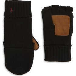 Men's Polo Ralph Lauren Wool Blend Convertible Glove, Size One Size - Black found on Bargain Bro India from Nordstrom for $62.00