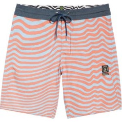 Men's Volcom Mag Vibes Stoney Boardshorts, Size 31 - Orange found on MODAPINS from Nordstrom for USD $55.00