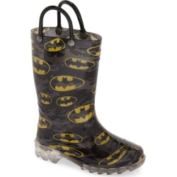 Boy's Western Chief Batman Signal Light-Up Waterproof Rain Boot found on Bargain Bro India from Nordstrom for $39.95