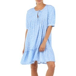 Women's Papinelle Mathilda Pintuck Pleat Nightgown, Size Large - Blue found on MODAPINS from Nordstrom for USD $69.00