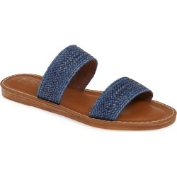 Women's Bella Vita Two-Strap Slide Sandal, Size 8 M - Blue found on Bargain Bro Philippines from LinkShare USA for $79.95