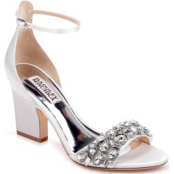 Women's Badgley Mischka Laraine Embellished Ankle Strap Sandal found on Bargain Bro India from Nordstrom for $235.00