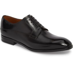 Men's Bally Lantel Plain Toe Derby, Size 7 D - Black found on MODAPINS from Nordstrom for USD $495.00