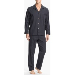 Men's Majestic International Herringbone Cotton Pajamas, Size Large - Grey found on MODAPINS from Nordstrom for USD $75.00