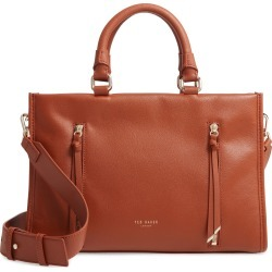 Ted Baker London Small Hanee Leather Satchel - Brown found on Bargain Bro India from Nordstrom for $379.00