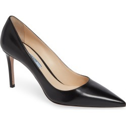 Women's Prada Pointy Toe Pump, Size 11.5US / 41.5EU - Black found on Bargain Bro Philippines from Nordstrom for $675.00