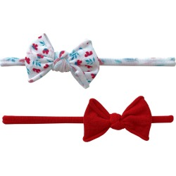 Baby Bling 2-Pack Bow Headbands, Size One Size - Red found on Bargain Bro from Nordstrom for USD $10.64