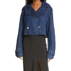 Women's Rotate Loretta Crop Denim Jacket, Size 10 US - Blue found on Bargain Bro from Nordstrom for USD $228.00