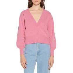 Women's Sandro Wool Cardigan, Size 0 - Pink found on Bargain Bro from Nordstrom for USD $224.20