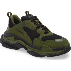 Men's Balenciaga Triple S Sneaker, Size 11US - Green found on MODAPINS from Nordstrom for USD $975.00