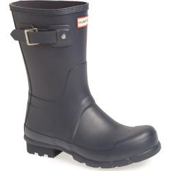 Men's Hunter Original Short Waterproof Rain Boot, Size 7 M - Blue found on MODAPINS from Nordstrom for USD $145.00