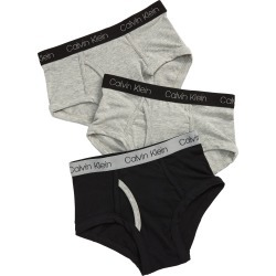 Boy's Calvin Klein Kids' 3-Pack Briefs, Size S - Black found on MODAPINS from Nordstrom for USD $18.00