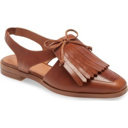 Women's Jeffrey Campbell Oxbridge Slingback Loafer, Size 6 M - Brown found on MODAPINS from Nordstrom for USD $127.46