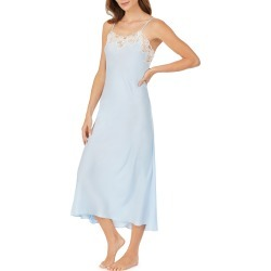 Women's Eileen West Ballet Satin Nightgown, Size X-Large - Blue found on MODAPINS from Nordstrom for USD $88.00