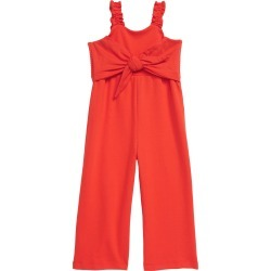 Toddler Girl's Habitual Tie Front Sleeveless Jumpsuit