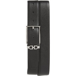 Men's Salvatore Ferragamo Reversible Leather Belt, Size 38 - Nero / T.moro found on Bargain Bro India from LinkShare USA for $350.00