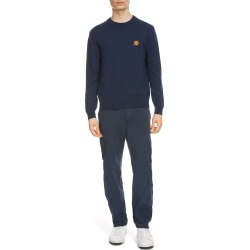 Men's Kenzo Tiger Crest Crewneck Wool Sweater, Size Small - Blue found on MODAPINS from Nordstrom for USD $325.00