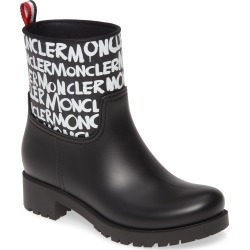 Women's Moncler Ginette Logo Waterproof Rain Boot found on MODAPINS from Nordstrom for USD $425.00