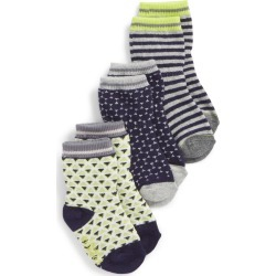 Toddler Boy's Robeez Geo 3-Pack Socks, Size 12-24months - Grey found on Bargain Bro India from Nordstrom for $10.50