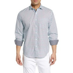 729dfe7d7 Men's Bugatchi Classic Fit Ice Pop Print Cotton Sport Shirt found on  MODAPINS from Nordstrom for