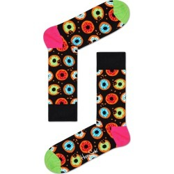 Men's Happy Socks Donut Socks, Size One Size - Black found on MODAPINS from Nordstrom for USD $14.00